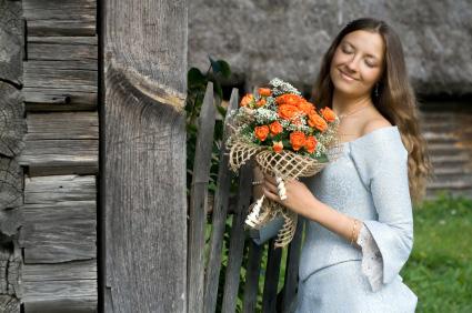 flori sfantul valentin femeie