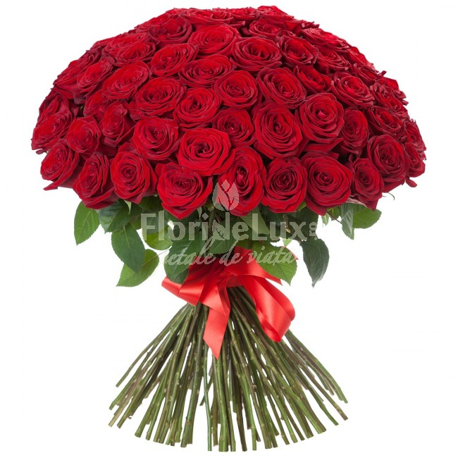 pret 101 trandafiri, 119 trandafiri rosii