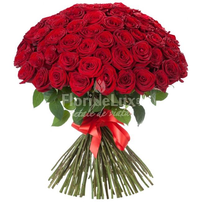 buchete de flori trandafiri rosii