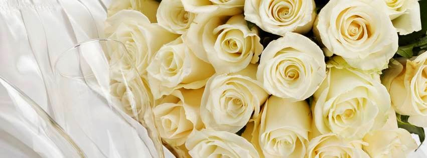 Trandafiri albi pentru Ziua Indragostitilor