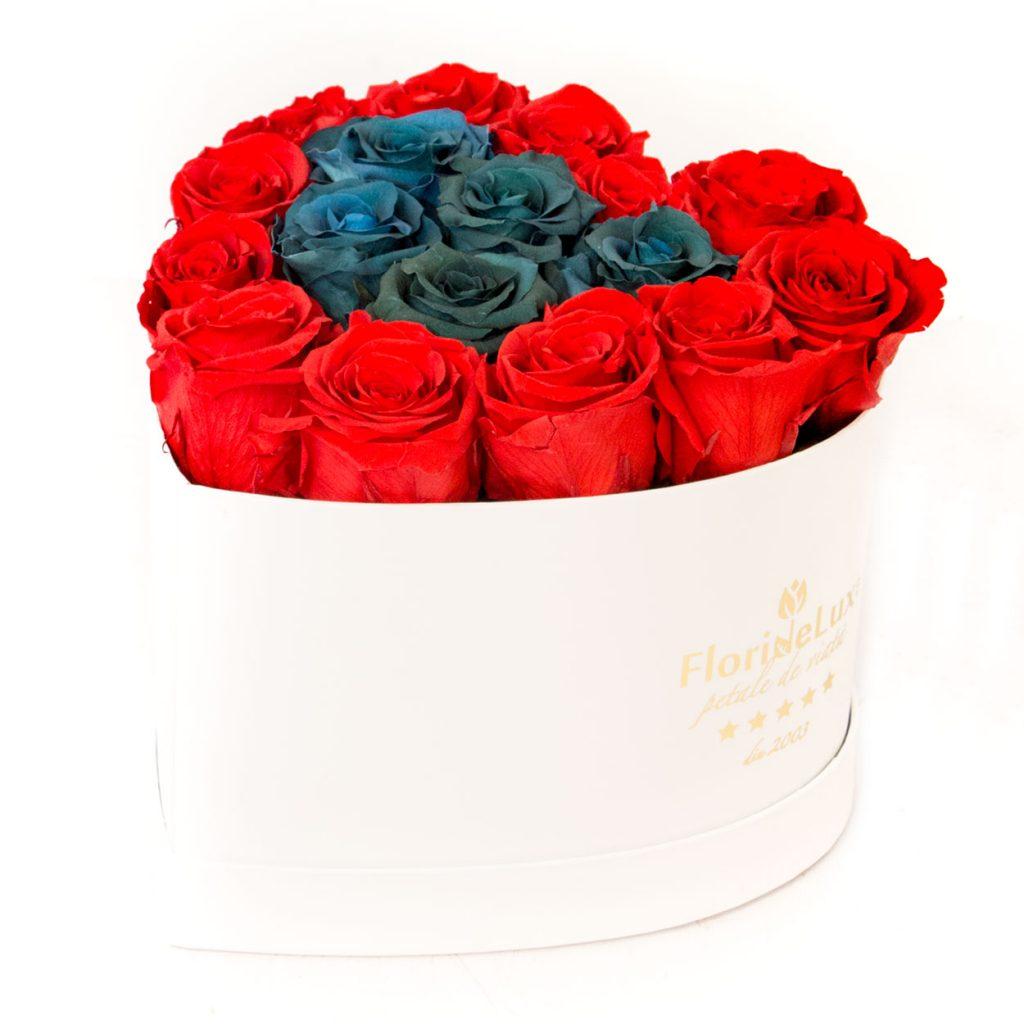 trandafiri nemuritori in inima eleganta