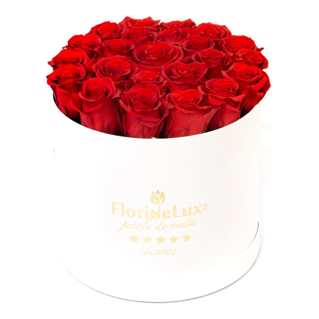 trandafiri rosii criogenati online
