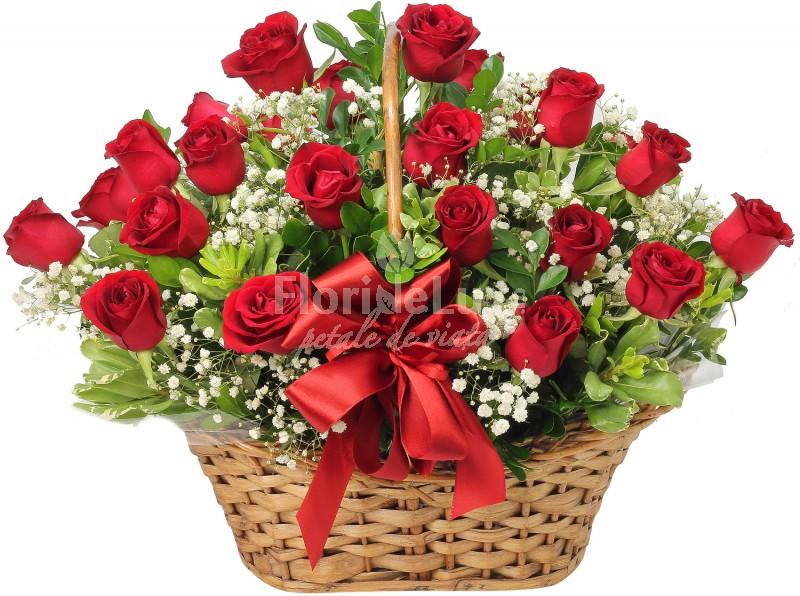cosuri cu flori, cadouri romantice zi de nastere iubita sau sotie
