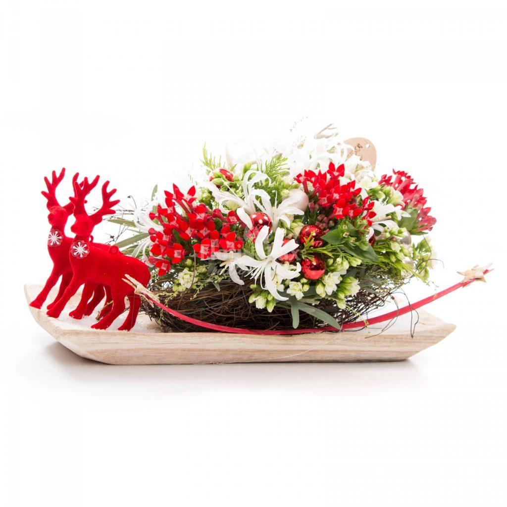Craciunul idei de aranjamente florale